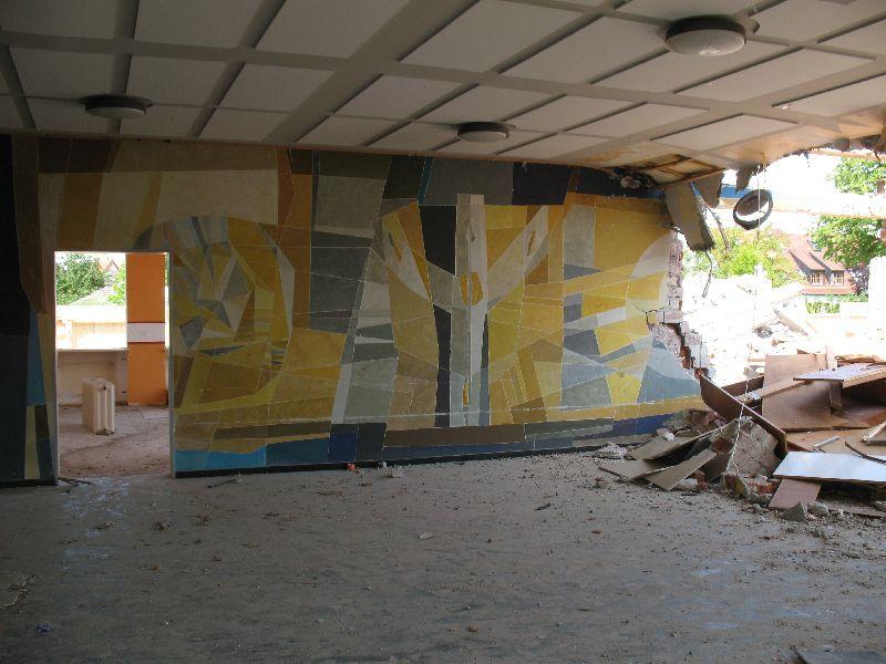 Schule Abriss