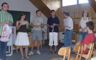 Ehrung engagierter Schüler beim SMV-Tag 2006