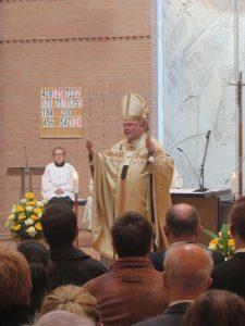 90 Jahre St. Matthias: Kardinal Reinard Marx bei seiner Predigt