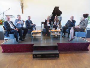 90 Jahre St. Matthias: Podiumsdiskussion mit ausgewählten Gästen