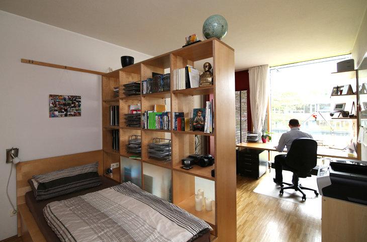 Einzelzimmer im Wohnheim