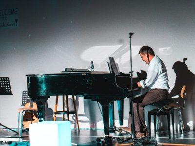 Hans Bobe mit Jazz vom Feinsten (Foto: Schlott)