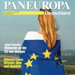 """Zeitschrift """"Paneuropa Deutschland"""", Ausgabe August 2020"""