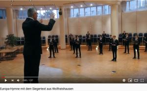 Interpretation des Siegertextes aus Waldram durch den Chor der Regensburger Domspatzen im Oktober 2020