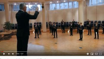 Interpretation des Siegertextes aus Waldram durch den Chor der Regesnburger Domspatzen im Oktober 2020