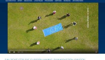 Am 17. November wurden der Wettbewerb und der erfolgreiche Text in einem Bericht in TV Ostbayern gewürdigt: